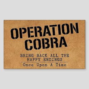 OUAT Operation Cobra Sticker