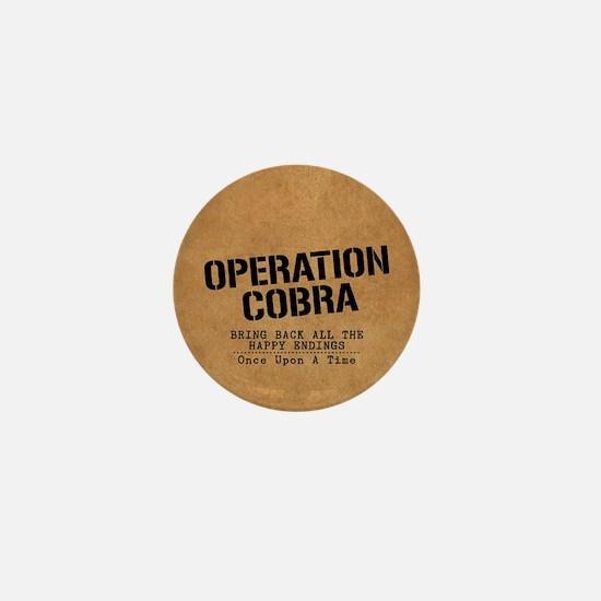 OUAT Operation Cobra Mini Button