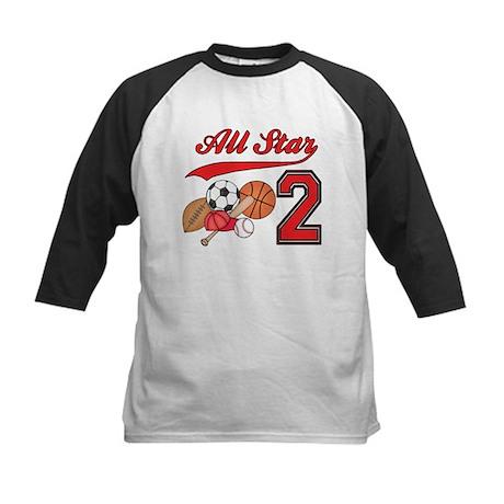 AllStar Sports 2nd Birthday Kids Baseball Jersey