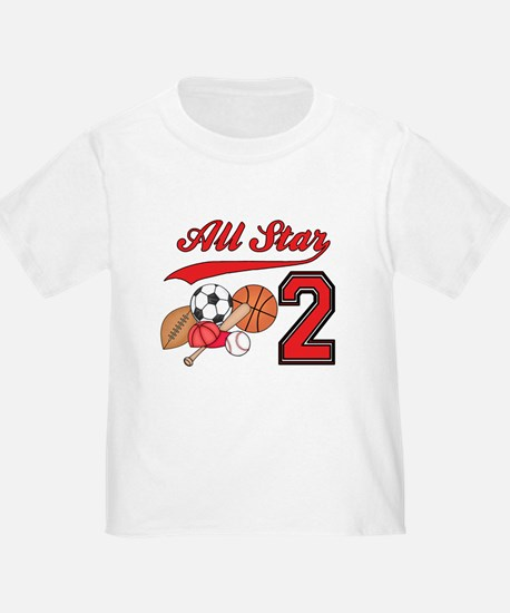 AllStar Sports 2nd Birthday T