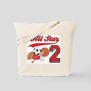 AllStar Sports 2nd Birthday Tote Bag