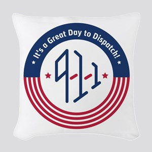 GDDCoin Woven Throw Pillow