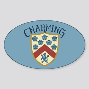 Prince Charming Shield Sticker
