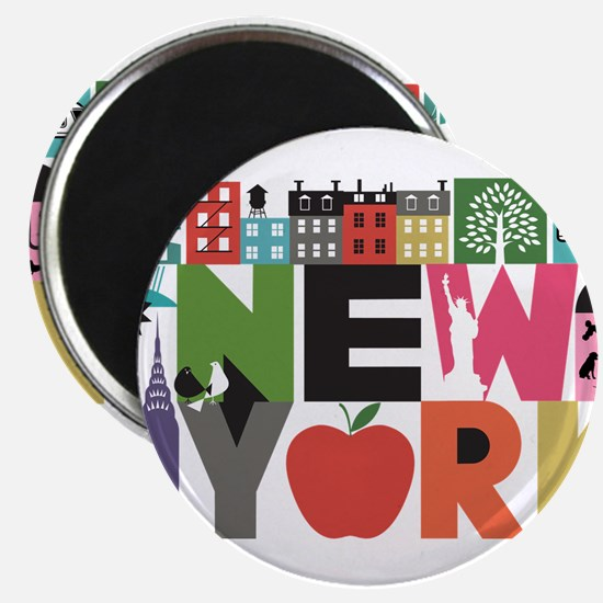Unique New York - Block by Block Magnets