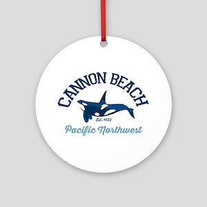 Cannon Beach. Round Ornament