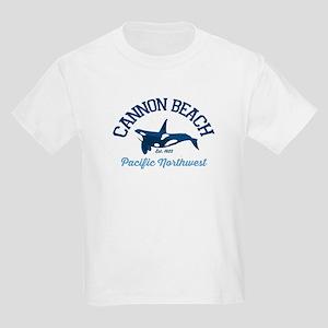 Cannon Beach. Kids Light T-Shirt