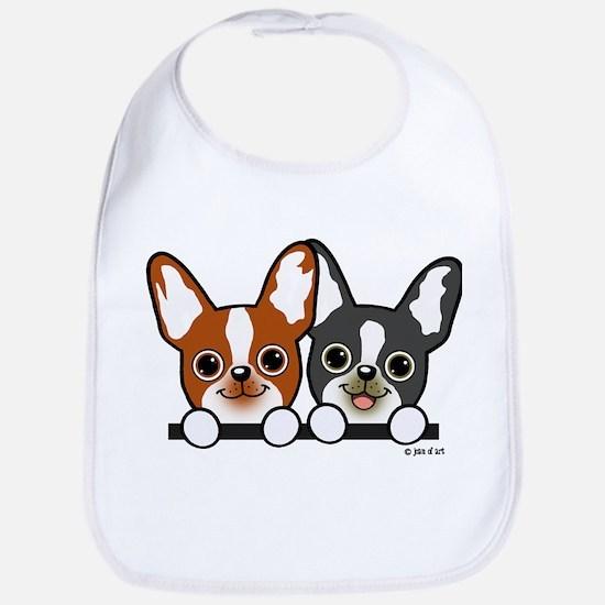 Cute Puppies Bib