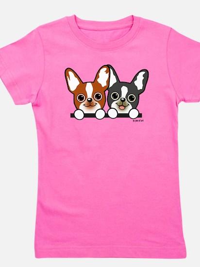 Cute Puppies Girl's Tee
