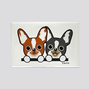 Cute Puppies Magnets