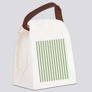Classic Ticking Stripes by LH Canvas Lunch Bag