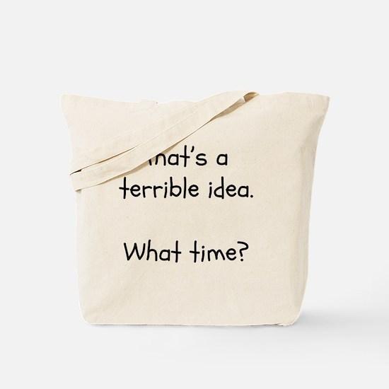 Funny Teen Tote Bag