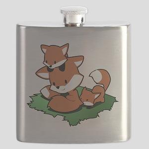 Fox family Flask