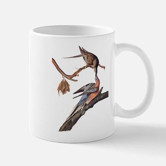 Passenger Pigeon Vintage Audubon Art Mugs
