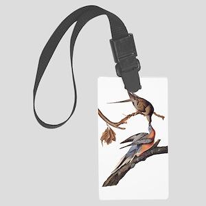 Passenger Pigeon Vintage Audubon Art Luggage Tag