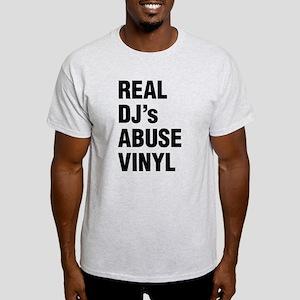 REAL DJs ABUSE VINYL T-Shirt