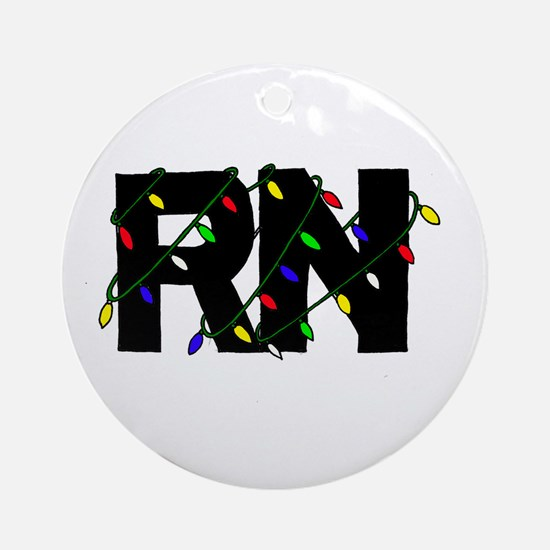 Nurse Christmas Gifts Ornament (Round)
