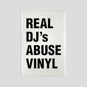 REAL DJs ABUSE VINYL Magnets