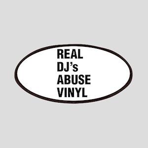 REAL DJs ABUSE VINYL Patch
