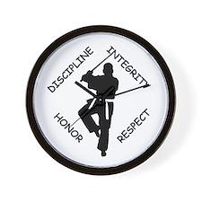 Karate Quips DIHR Wall Clock