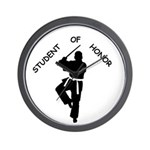 Student of Honor Wall Clock
