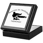 Taekwondo Master in Training Keepsake Box