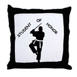 Student of Honor Throw Pillow