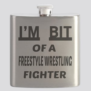 I am bit of a Freestyle Wrestling Fighter Flask