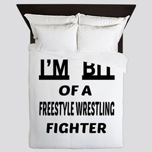 I am bit of a Freestyle Wrestling Figh Queen Duvet