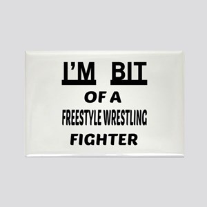 I am bit of a Freestyle Wrestling Rectangle Magnet