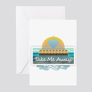 Take Me Away Greeting Cards