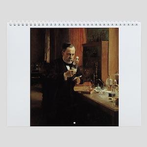 Famous Scientists Wall Calendar