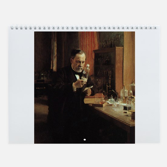 Famous Scientists Wall Calendar