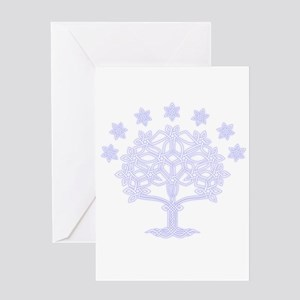 Tree of the King Greeting Cards
