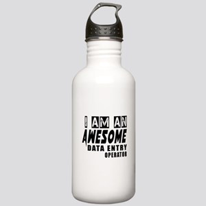 I Am Data entry operat Stainless Water Bottle 1.0L