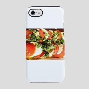 tomato and mozzarella iPhone 8/7 Tough Case