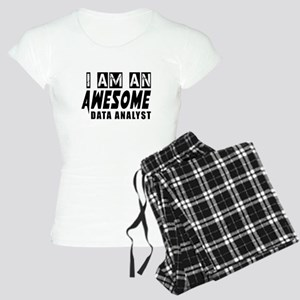 I Am Data analyst Women's Light Pajamas