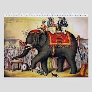 Circus Art Wall Calendar
