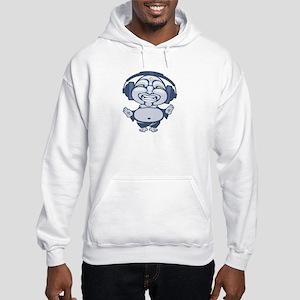 DJ Zen Buddha Hooded Sweatshirt