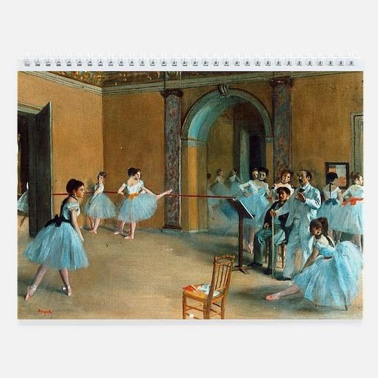 Degas Ballet Wall Calendar