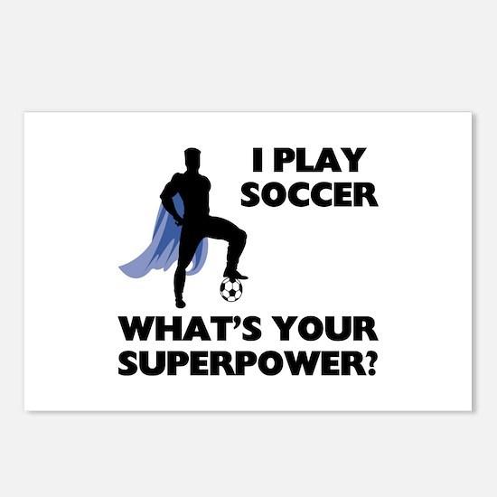 Soccer Superhero Postcards (Package of 8)