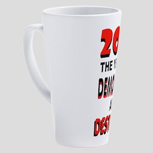 DEMOCRATS FINISHED 17 oz Latte Mug