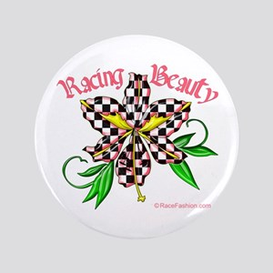 "Racing Beauty 3.5"" Button"