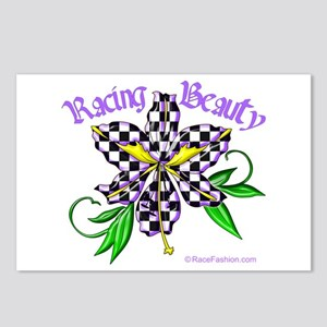 Racing Beauty Postcards (Package of 8)