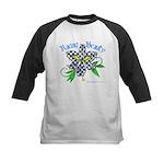 Racing Beauty Kids Baseball Jersey