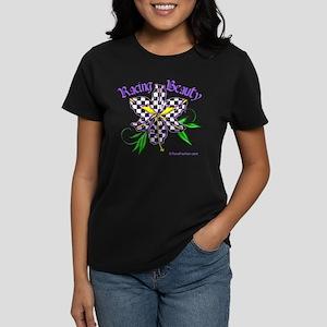 Racing Beauty Women's Dark T-Shirt