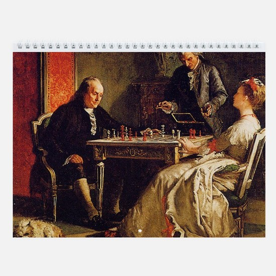 Great Chess Art Wall Calendar