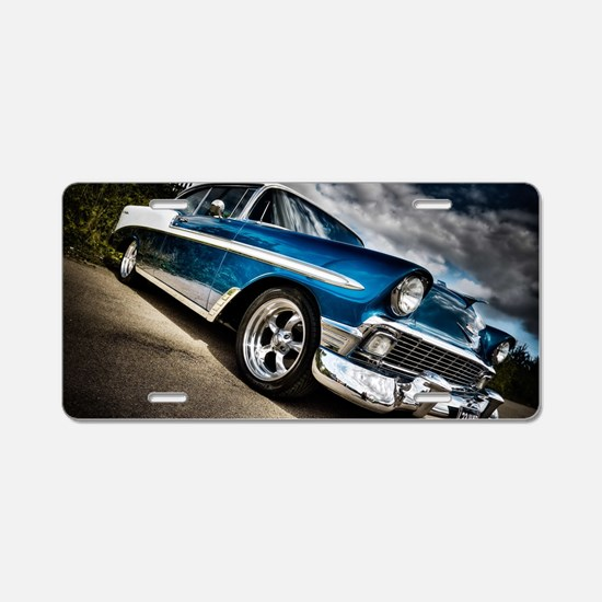 Retro car Aluminum License Plate