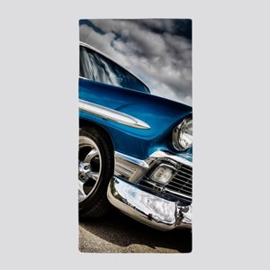 Retro car Beach Towel