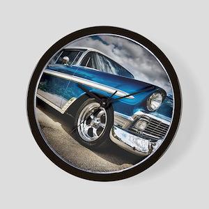 Retro car Wall Clock