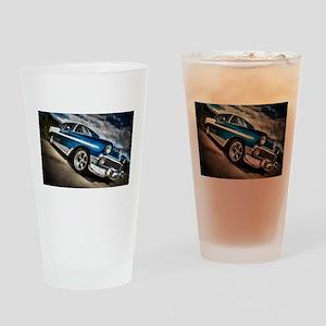 Retro car Drinking Glass